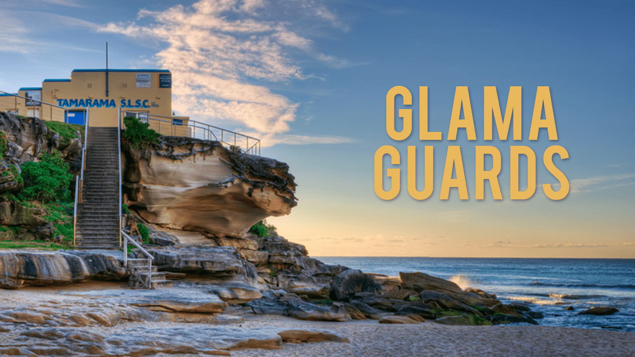 glama guards